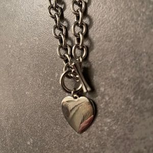 Gorgeous Heart Chain Necklace